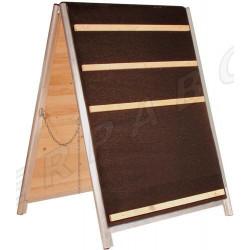 "Klimsprong hout ""A-frame"""